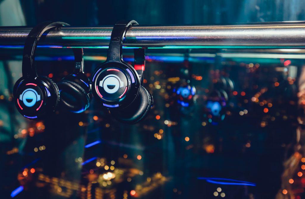 Silent Disco Headphones | British Airways i360