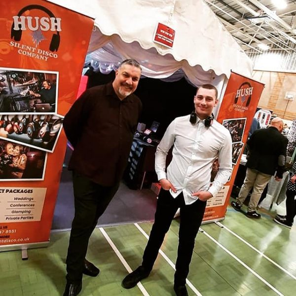 Andy Crabb & Josh Peverley | Hush Silent Disco Company